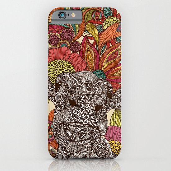 Arabella and the flowers iPhone & iPod Case