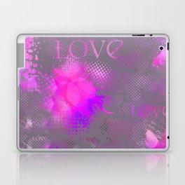Abstract Love2 Laptop & iPad Skin