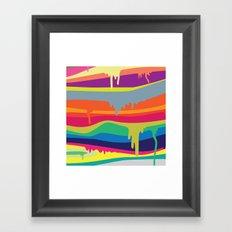 Melt On Framed Art Print