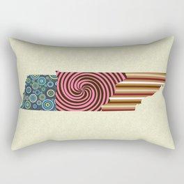 Tennessee State Map Rectangular Pillow