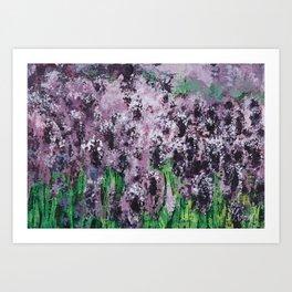 Carpet Of Lavender Art Print