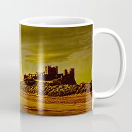 Golden Bamburgh Morning Coffee Mug