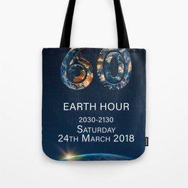 Earth Hour 2018 Tote Bag