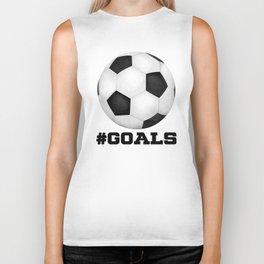 #Goals Biker Tank