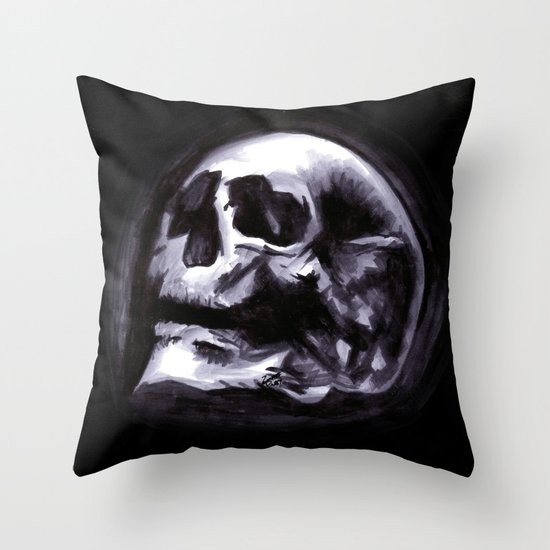 Bones VII Throw Pillow