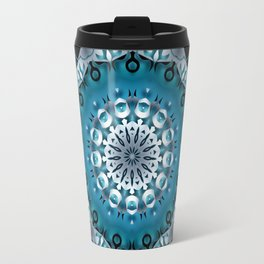 Mandala Blue 5 Travel Mug