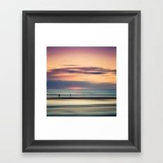 Oceanside Serenity Framed Art Print