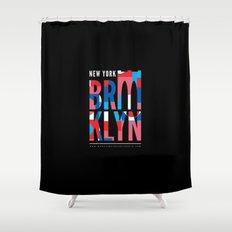 Brooklyn Bridge Remix // www.pencilmeinstationery.com Shower Curtain