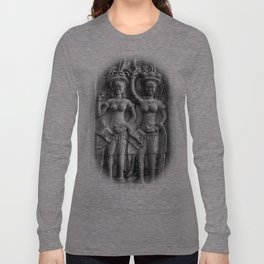 Cambodian Erotic Goddesses Long Sleeve T-shirt