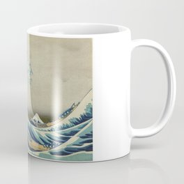 Great Wave Off Kanagawa (Kanagawa oki nami-ura or 神奈川沖浪裏) Coffee Mug