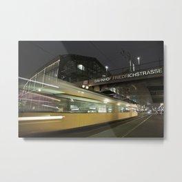 Friedrichstrasse Metal Print