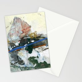 Mount Matterhorn Stationery Cards