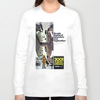 2001 Long Sleeve T-shirts featuring 2001 by Neon Wildlife