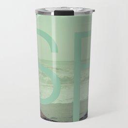 OCEAN BEACH Travel Mug