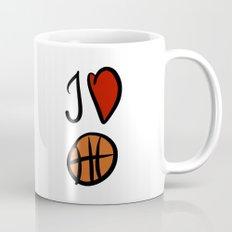 I love basketball  Mug