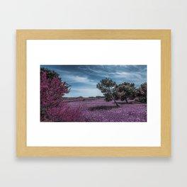Surreal Landscape - Infra Red in Malta Framed Art Print