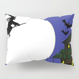 Witches Cottage Pillow Sham