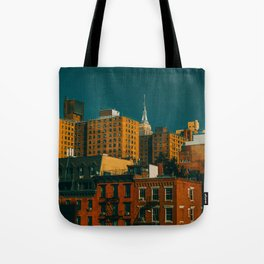 New York City Apartments (Color) Tote Bag