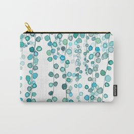 String Of Pearls plants watercolor 2 Carry-All Pouch