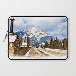 Cascade Mountain - Banff  Alberta Canada Laptop Sleeve