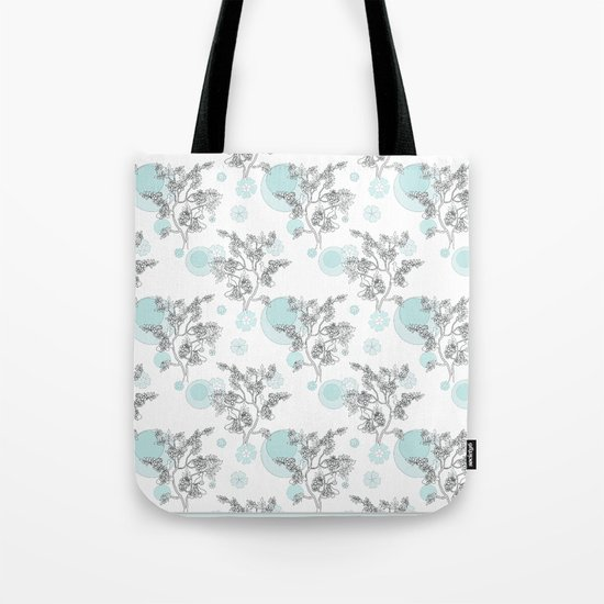 Foggy morning . Tote Bag