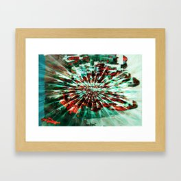 SKELETON FINGERS Framed Art Print