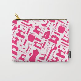 Sewing tools silhouetes. Carry-All Pouch