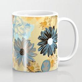 Moody Floral (Naple yellow) Coffee Mug