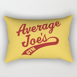 Average Joes Dodgeball Rectangular Pillow