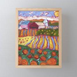 Iowa Barn Framed Mini Art Print
