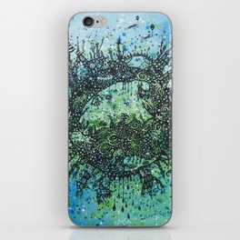 the planet shades iPhone Skin