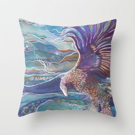 Eagles Wings Throw Pillow