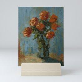 The richness of roses Mini Art Print