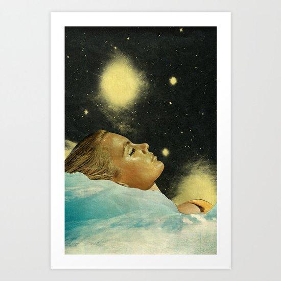 The sleeper Art Print