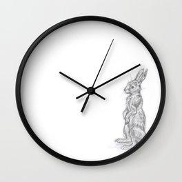 Pogo the Rabbit Wall Clock