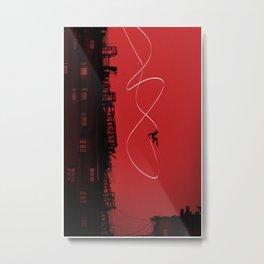 Leap Metal Print