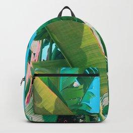 Pop Art Banana Leaf Backpack