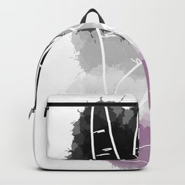 Asexual Pride Backpack