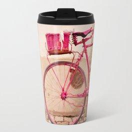 Lady in Pink Travel Mug