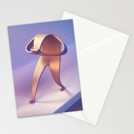 Collision Course Stationery Cards
