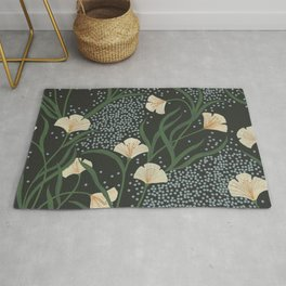 Lily Floral Rug