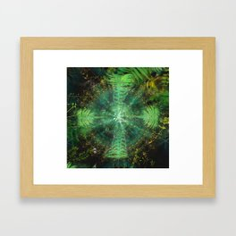 Botanic Mandala II Framed Art Print