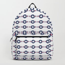 US Air force Style insignia Pattern Backpack