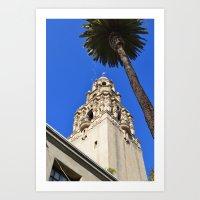 san diego Art Prints featuring San Diego by Chris Martin