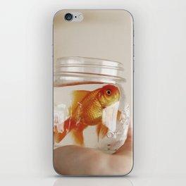 jar of fish iPhone Skin