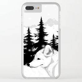 Arctic Animals - Arctic Tundra Clear iPhone Case
