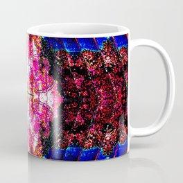 Living Spring Layered in Bright Pink Coffee Mug