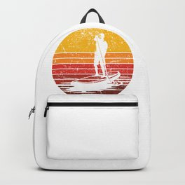 Stand Up Paddle Boarding Man Backpack