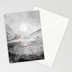 The red sounds and poems, Chapter II Stationery Cards