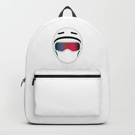 Snowboard Helmet and Goggles Backpack